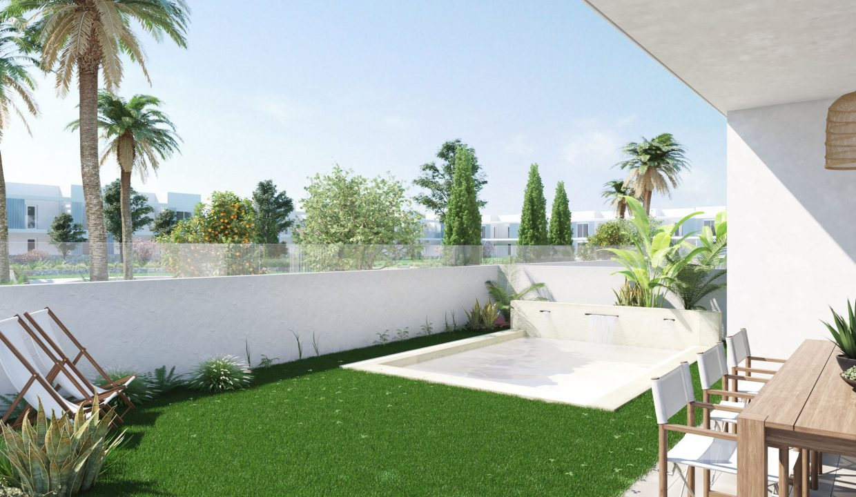 Optional Private Pool Ground floor apartments
